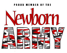 Proud Member of the Newborn Army